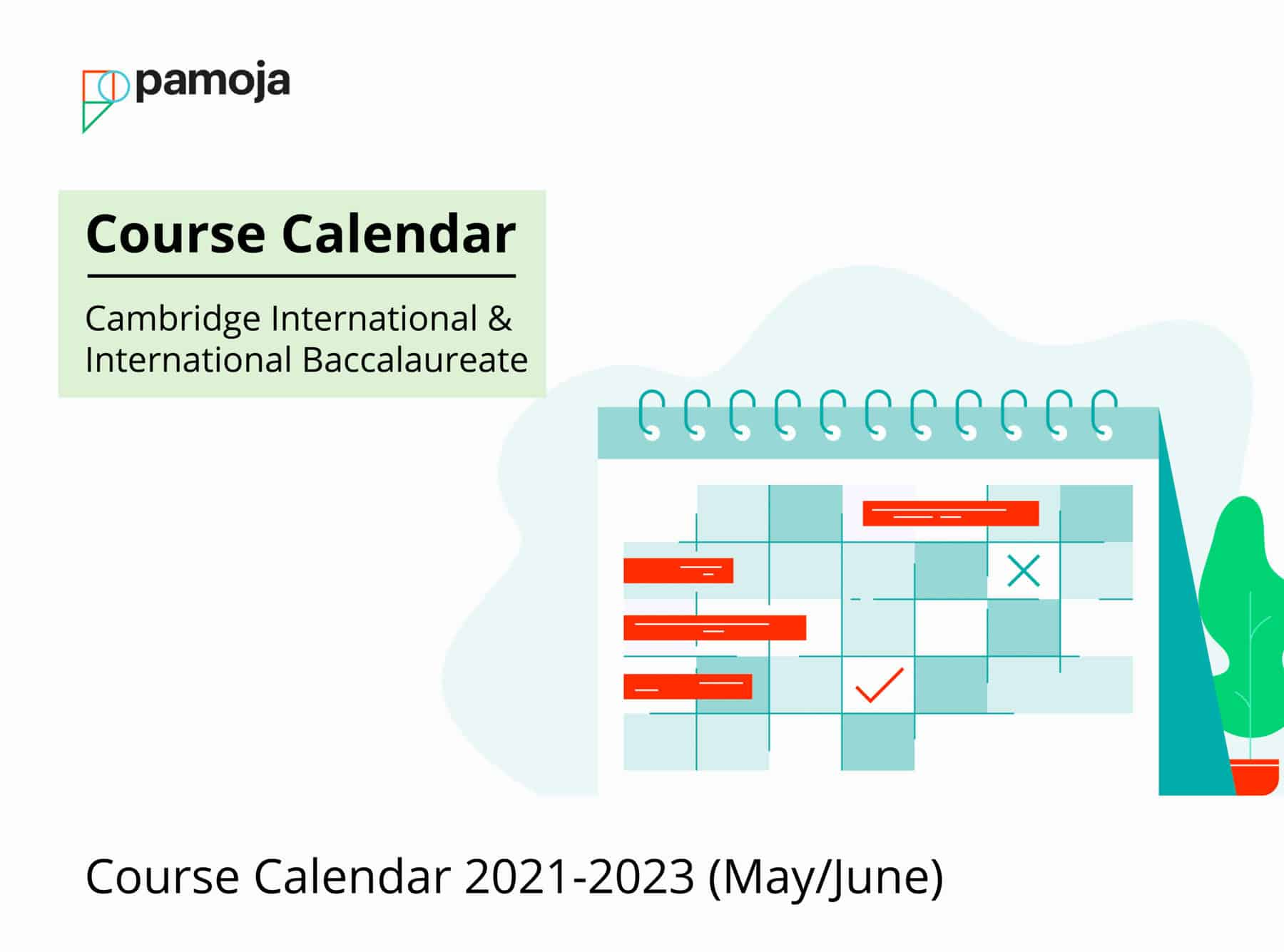 Course Calendar 2021/2023 (May/June)